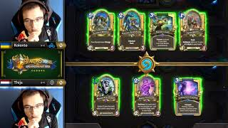 Kolento vs Thijs - Hearthstone Grandmasters Europe - Week 3