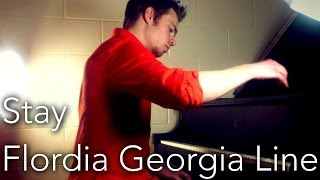 """Stay"" - Florida Georgia Line - Instrumental piano cover (Zach Evans)"