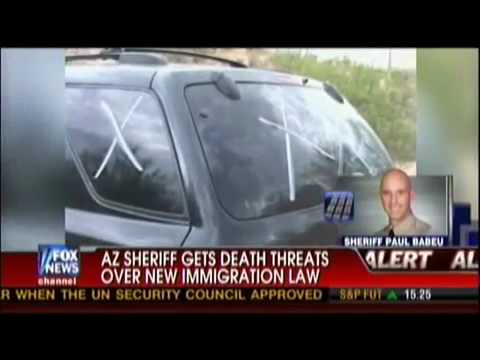 Arizona Sheriff Paul Babeu Gets Death Threats from Mexican Drug Cartels