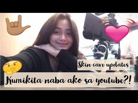 PAANO KUMITA SA YOUTUBE? + Magkano sweldo ko? + Skincare Routine Updates | Quennie Enrile