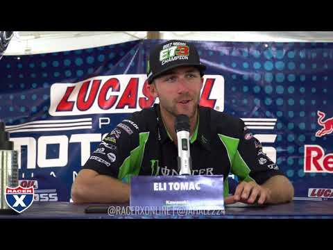 Racer X Films: Eli Tomac | 2017 Series Championship Press Conference