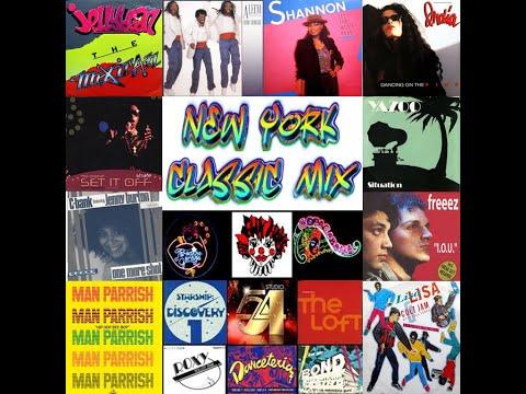NEW YORK CLUB CLASSIC MIX  FUNHOUSE, ROXY, GARAGE MIX