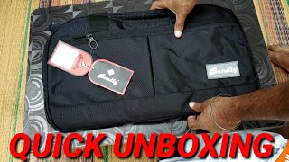 Bendly travel bag unboxing and review in हिंदी