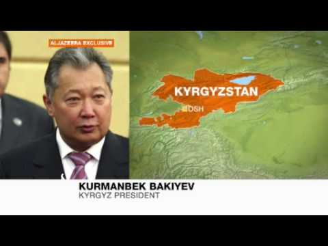 EXCLUSIVE: Interview with Kurmanbek Bakiyev, Kyrgyzstan's president