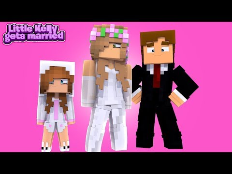 PORTAL TO LITTLE KELLY'S WEDDING DAY! w/Little Carly (Minecraft Rolepay).