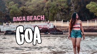 Goa vlog #1 Best place to stay Villa tour, North Goa, Baga beach market & more
