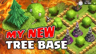 Clash of Clans | MY NEW TREE BASE | (Explanation + Review)