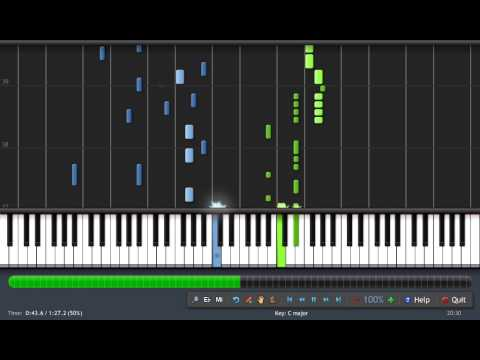 Synthesia - Tutorial - Fairy Tail Opening 3 video