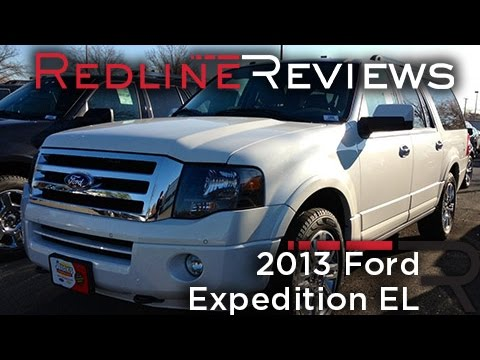 2013 Ford Expedition EL Review. Walkaround. Exhaust. Test Dr