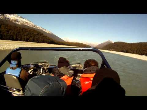 Jet Boat Safari from Glenorchy New Zealand