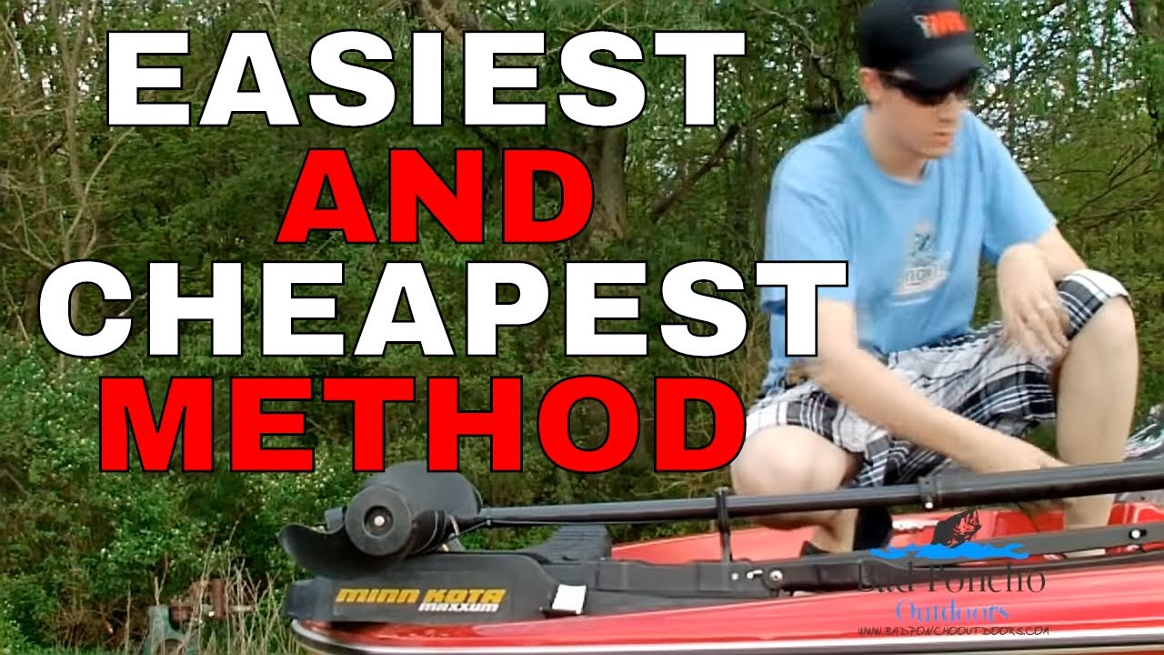 Replacing Your Trolling Motor Pull Cord Bad Poncho