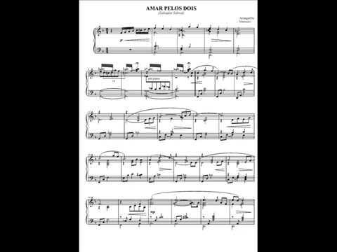 Amar Pelos Dois (piano solo) Salvador Sobral