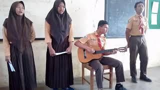 """Musikalisasi puisi """"Bukti - Virgoun"""" IX-K SMP NEGERI 6 TULUNGAGUNG"""