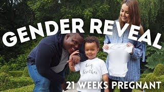 GENDER REVEAL | 21 WEEKS PREGNANT