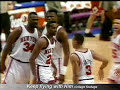 John Starks dunks on the Bulls NBA Playoffs 1993 FULL