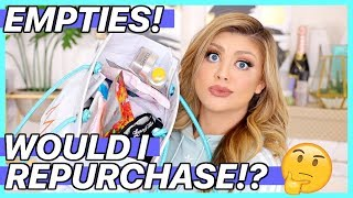 BEAUTY EMPTIES | WOULD I REPURCHASE?!