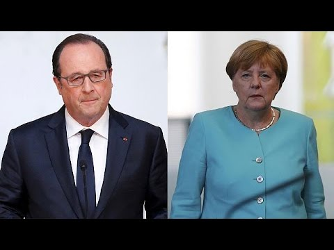Merkel and Hollande 'deeply regret' Britain's vote to leave the EU