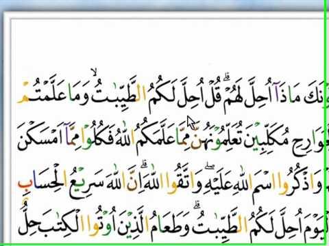Cara Mudah Belajar Al-quran , 1. Al-maidah 1-11 Ok.wmv video