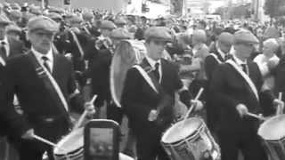 UVF FLUTE BAND, OLD STYLE UNIFORMS.