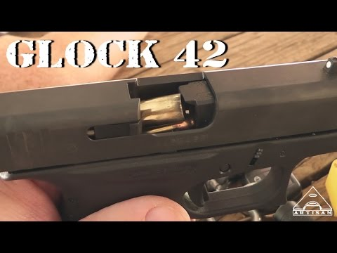 Glock 42 with MagGuts - Slipping Away for Range Time with Barret