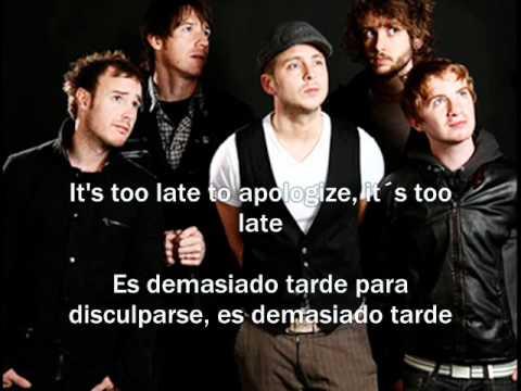OneRepublic Apologize subtitulos español ingles