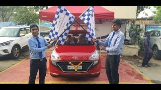 First Delivery of the All New Hyundai Santro at Shreenath Hyundai Dealership