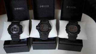 mygshock.com - Men In Mat Black Series Review