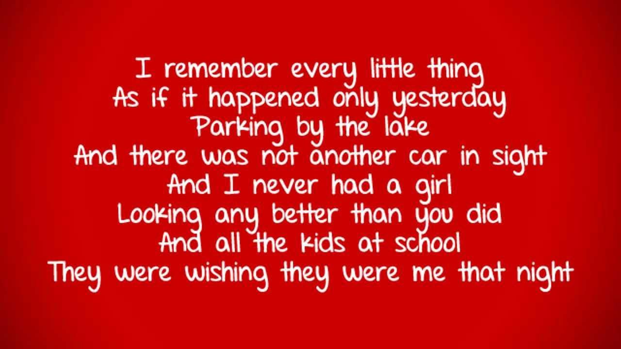 Glee Paradise By The Dashboard Light Lyrics Youtube