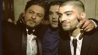 Shahrukh Khan Meets Zayn Malik At Asian Awards 2015