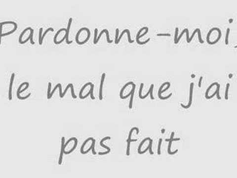 Gregory Lemarchal - Pardonne-Moi