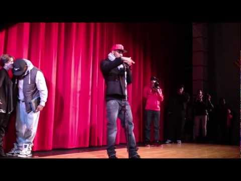 Trey Songz Speaks to Chaney High School (Youngstown, Ohio) Quick Clip