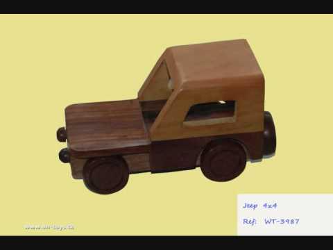 Juguetes de madera artesanos youtube - Jugueteros de madera ...