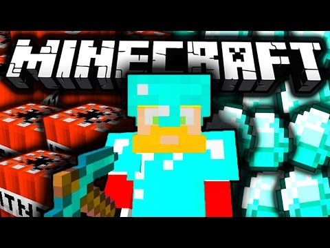 Epic TNT Diamond Mining - Minecraft [125]