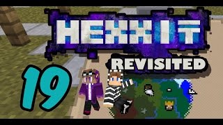 Hexxit Revisited EP19 - 今日我地來做收買佬~  ft. KZee, Wing - Minecraft