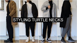 How To Style Turtle Necks | 7 OUTFIT IDEAS | Men's Fashion | Daniel Simmons