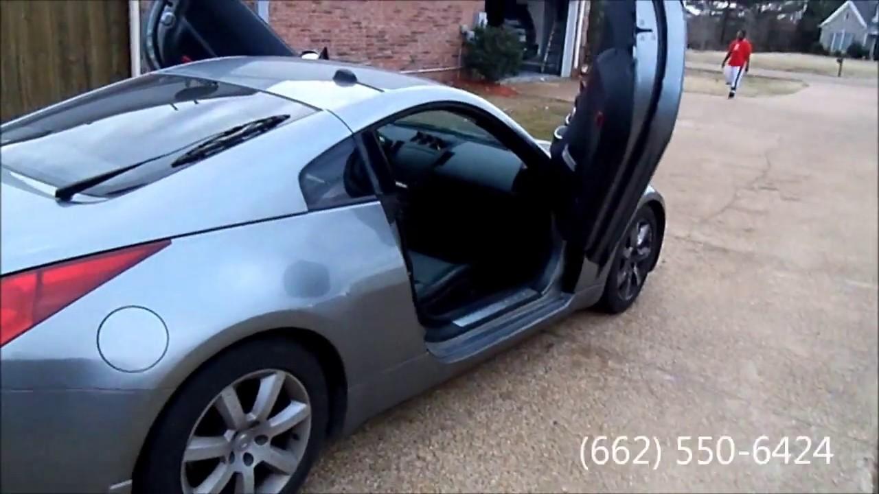 04 Nissan 350z Quot Lambo Doors Quot Youtube