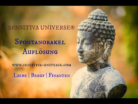 Das SENSITIVA UNIVERSE® Spontanorakel | Deine Zukunftsprognose für: Liebe - Beruf & Finanzen ♥