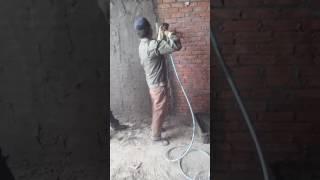 Máy phun vữa chát tường chuyên dụng