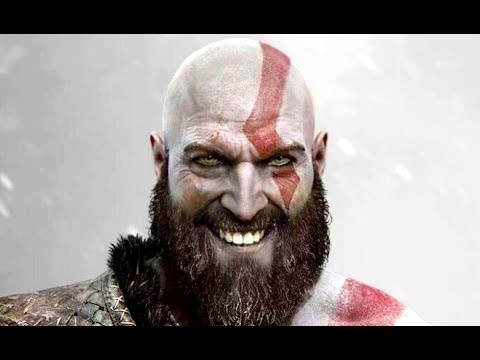 GOD OF WAR 4 - ALL FUNNY MOMENTS, JOKES & HUMOR, KRATOS SMILES
