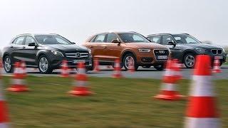 Mercedes GLA vs. Audi Q3 vs. BMW X1