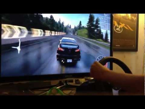 Logitech G27 Need for Speed HOT PURSUIT 1v1 (PS3)