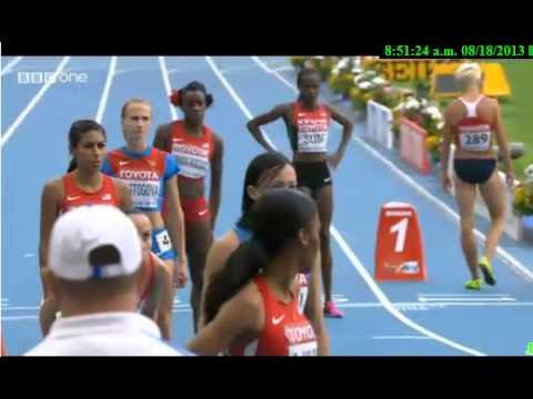 Moscow 800M - Women - Final - IAAF World Championships