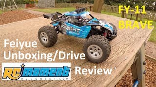 Feiyue FY-11 BRAVE 1/12 4WD RTR RC Car Unboxing/Drive/Review