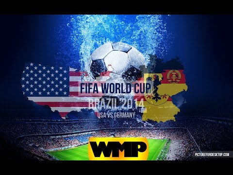 Germany 4-3 USA || World Cup || WatchMePlaying Puppet Soccer 2014