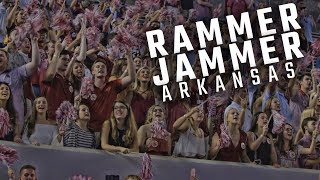 "Alabama fans erupt with ""Rammer Jammer"" after dominating Arkansas"