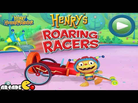 Henry HuggleMonster: Henry Roaring Racers - Cartoon Game For Kids