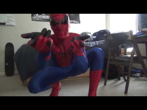 My Nearly Complete Amazing Spider-man Costume