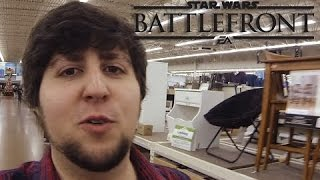 Star Wars Battlefront with Friends and Fans!!