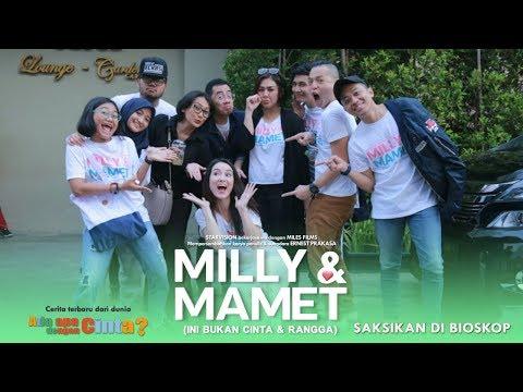download lagu MILLY & MAMET (Ini Bukan Cinta & Rangga) - Nobar Di Bekasi gratis