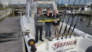 Teezher Charters NC Offshore Challenge May 18 2014